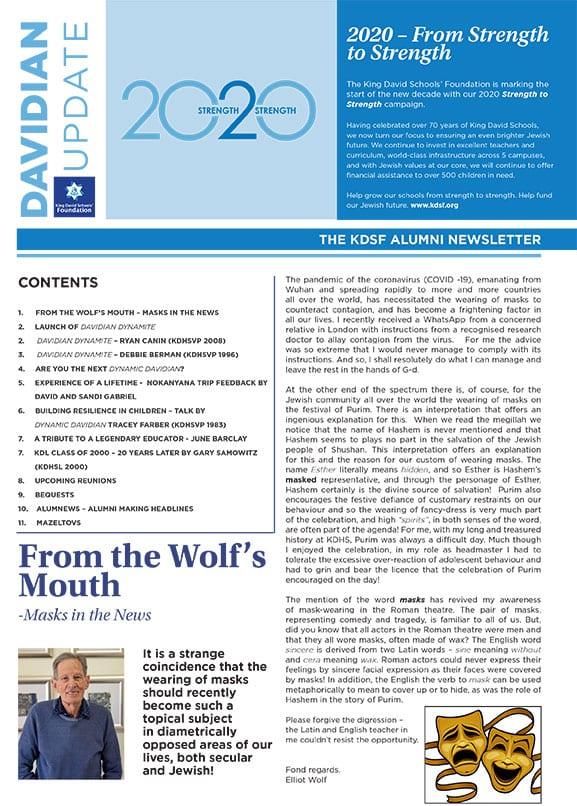 KDSF Newsletter